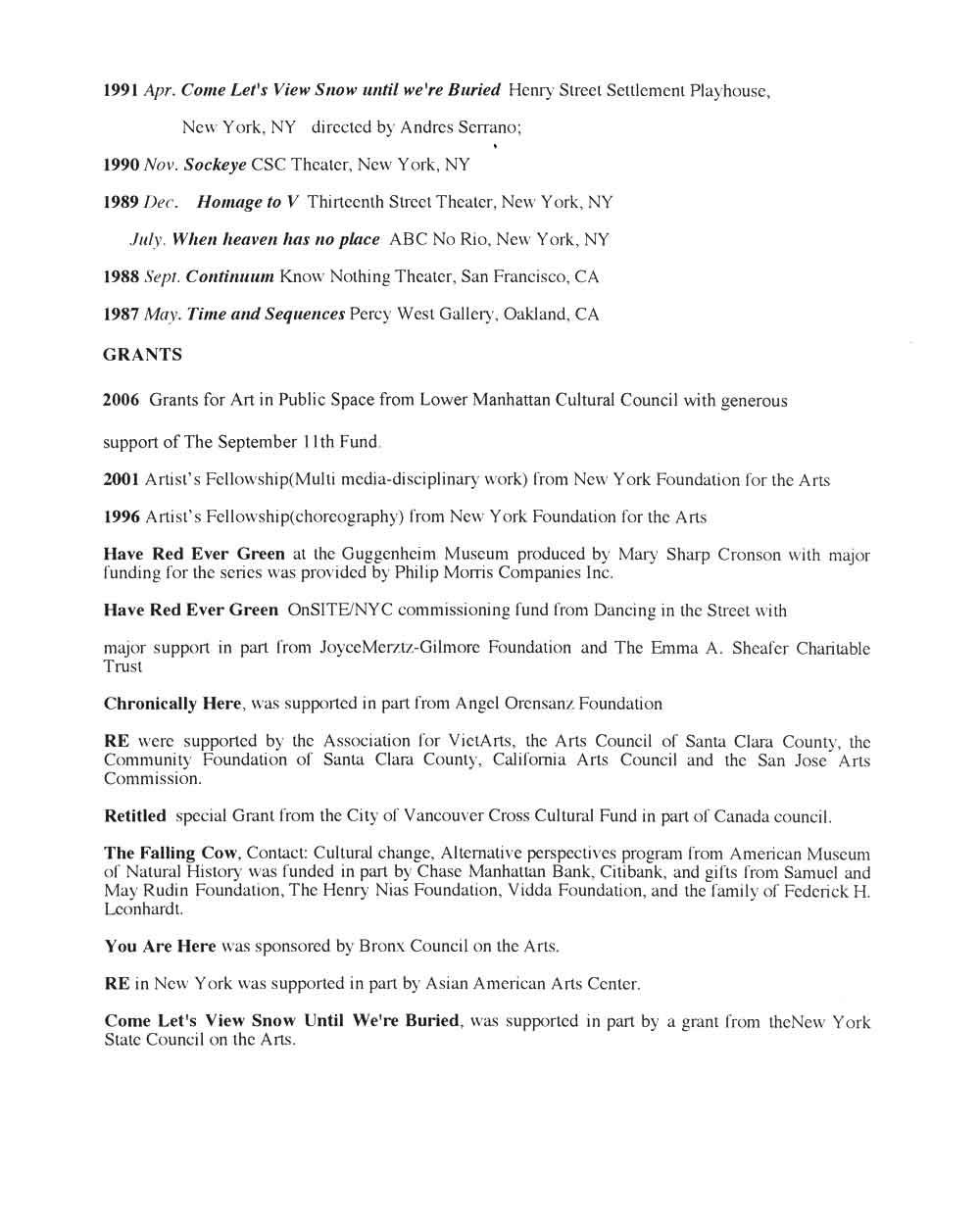 Tai Dang's Resume, pg 2
